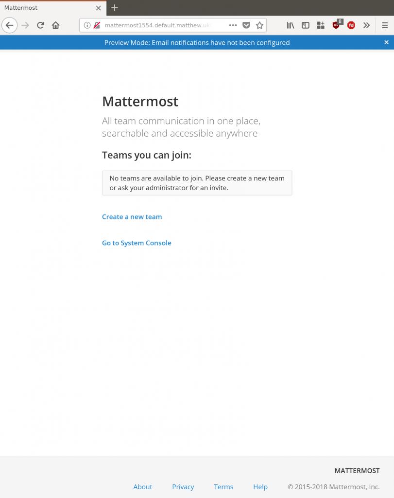 Run your own Mattermost, a free Slack alternative