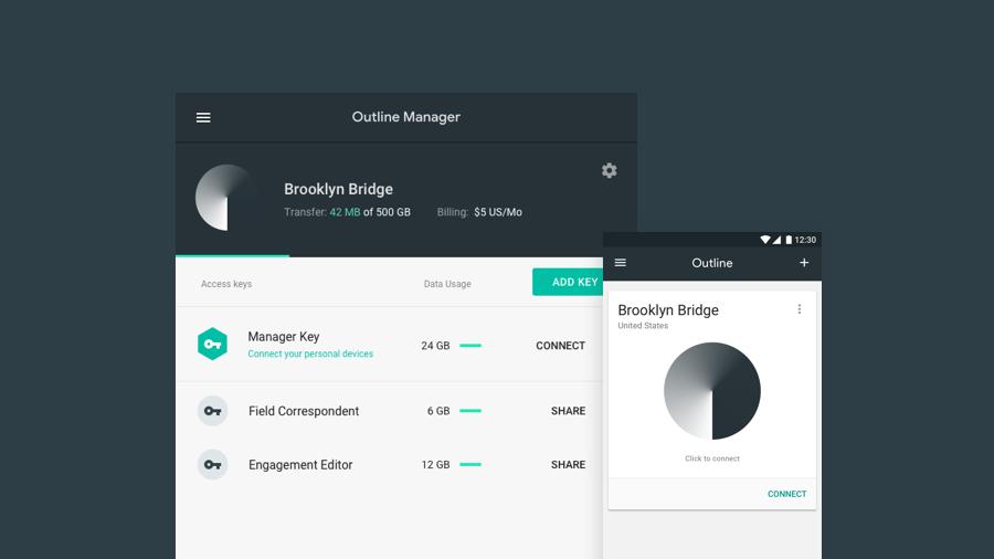 Outline Manager Screenshot